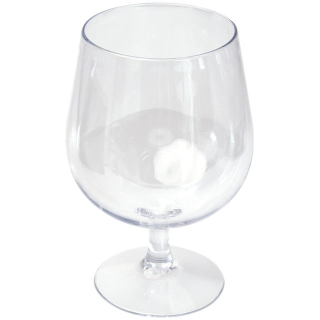 Glass, beer glass, PETG, durable (500x), 520ml, transparent 1