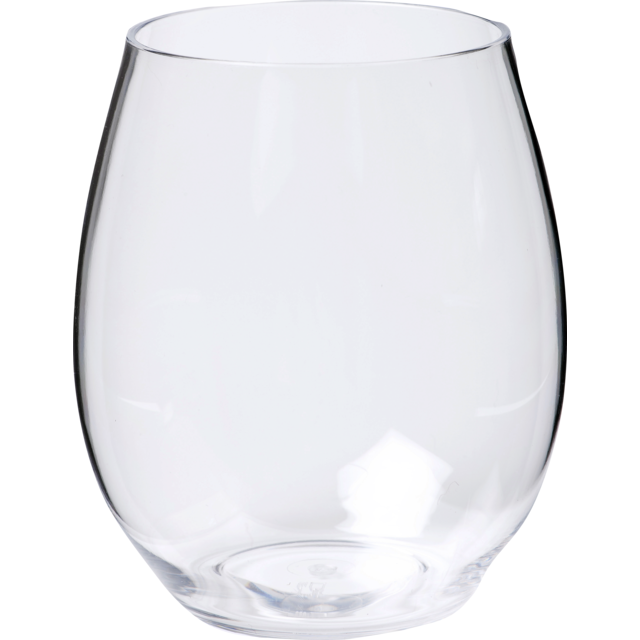Glass, water glass, PETG, durable (500x), 390ml, transparent 1