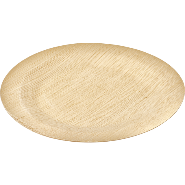 Biodore® Bord, rond, Bamboe, Ø280mm, naturel 1