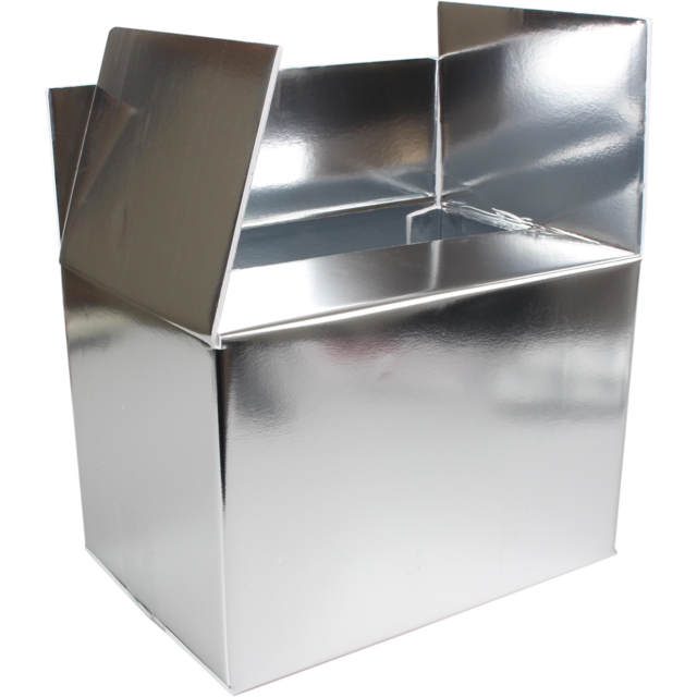 SendProof® Cool box, 300x200x200mm, silver 1