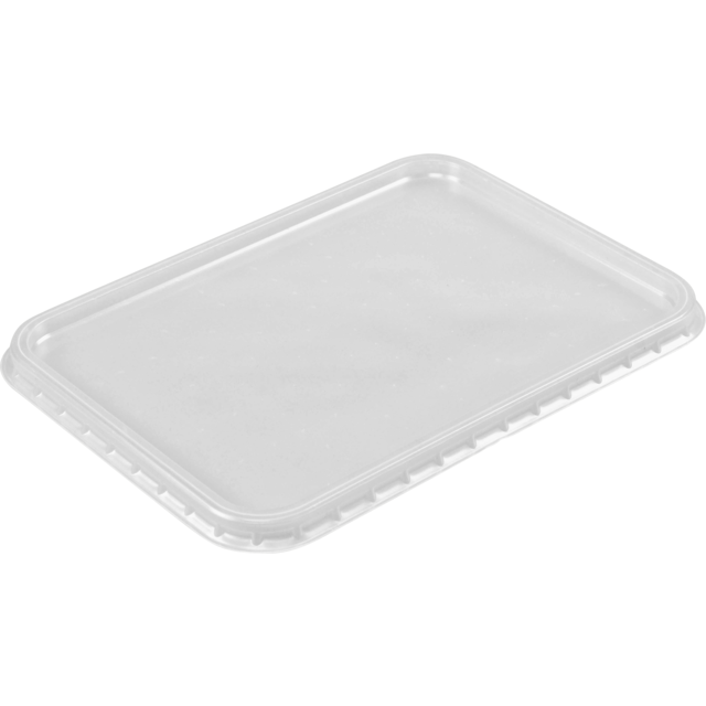 Lid, PP, rectangular, 180x135mm, transparent 1