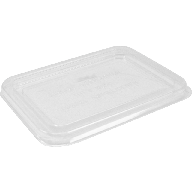 Lid, PET, rectangular, 171x127mm, transparent 1