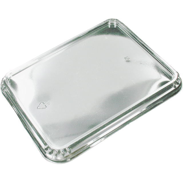 Lid, APET, rectangular, 226x177mm, transparent 1