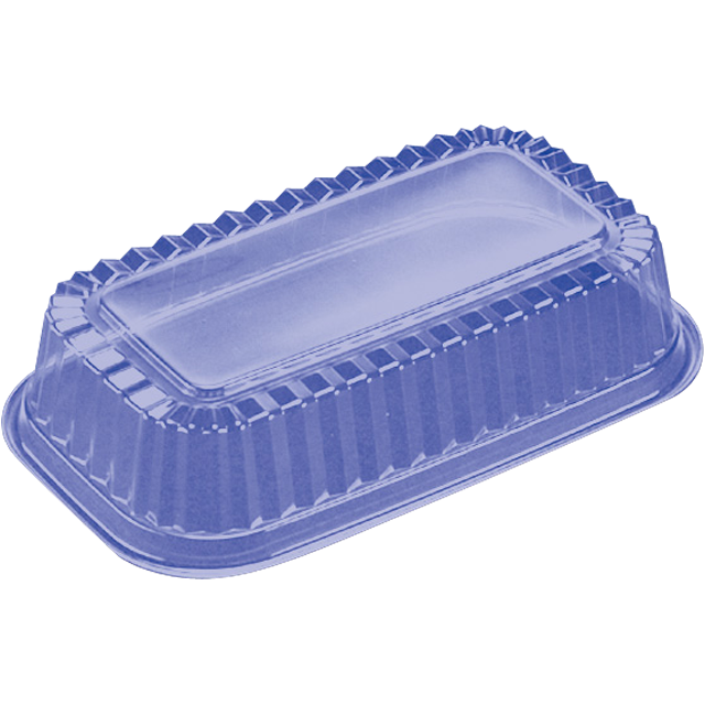 Catering serving tray , meat tray, PS, rectangular, 250ml, 217x129mm, transparent 1
