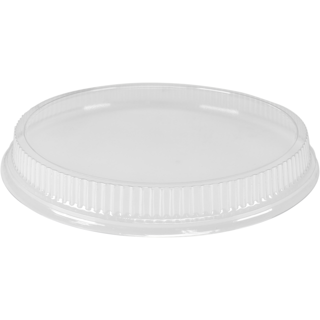 Lid, PS, round, 30xØ260mm, transparent 1