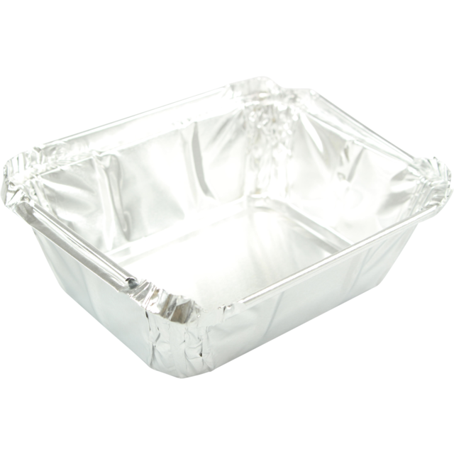Container, Aluminum, 250ml, 122x96x34mm,  1