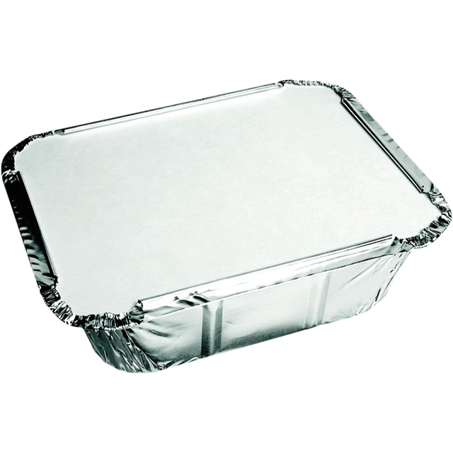 Container, Aluminum , with lid, 140x120x40mm, aluminum 1