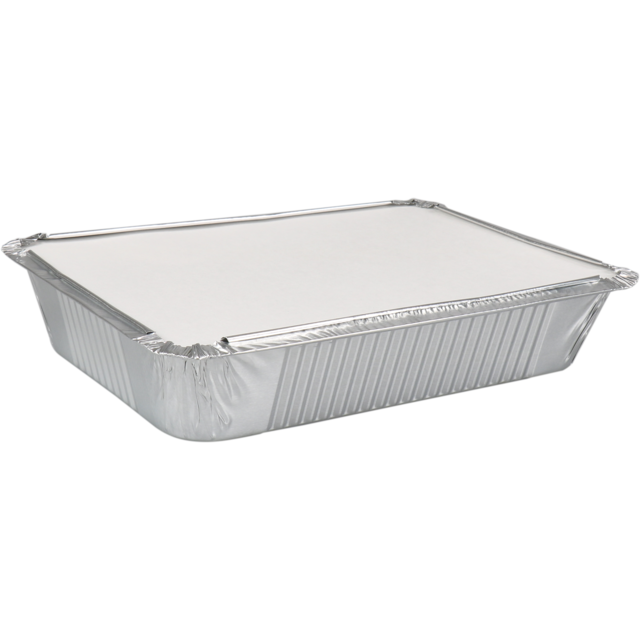 Container, Aluminum, with lid, 210x150x40mm, aluminum 1