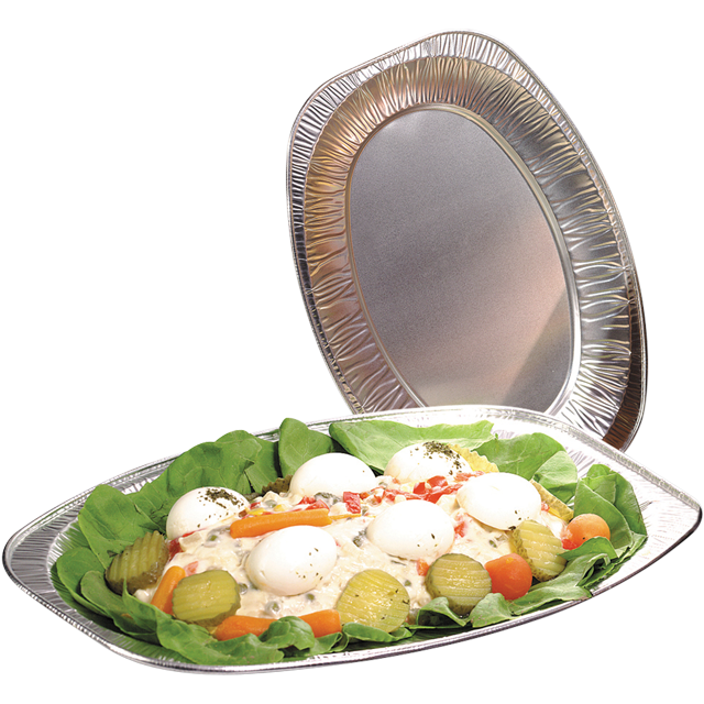 Depa Catering serving tray , dish/Platter - oval, Aluminum, oval, 350x240mm, aluminum 1