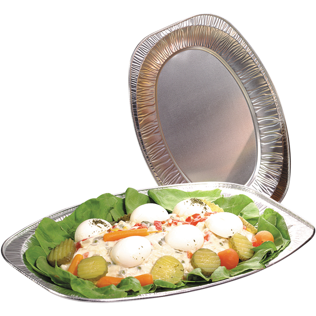 Depa Catering serving tray , dish/Platter - oval, Aluminum, oval, 550x360mm, aluminum 1