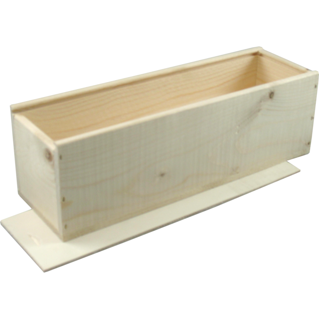 Champagne Kiste, Holz, 1 Flasche , 100x337x101mm. 1