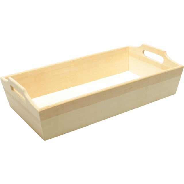 Tray, Wood, 19.8x36cm, natural 1
