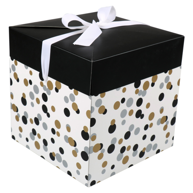 LOVLY® Box, Confetti, pop-up20x20x20cm,  1