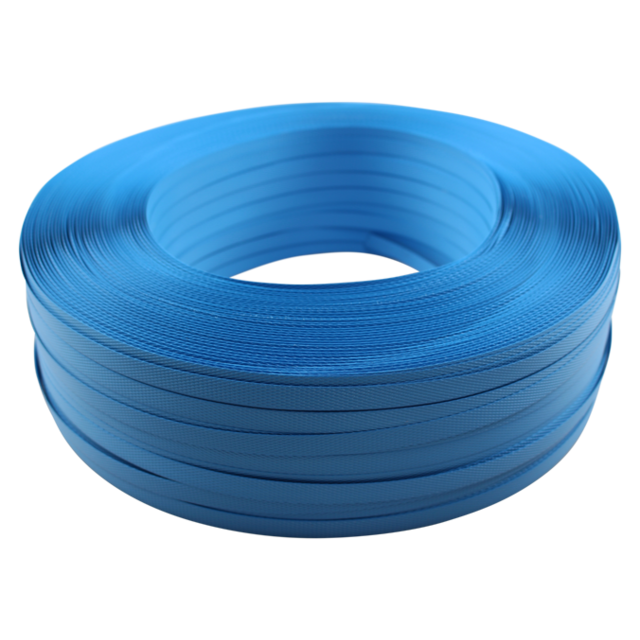 Strapping tape, PP, 12mm, 1000m, blue. 1