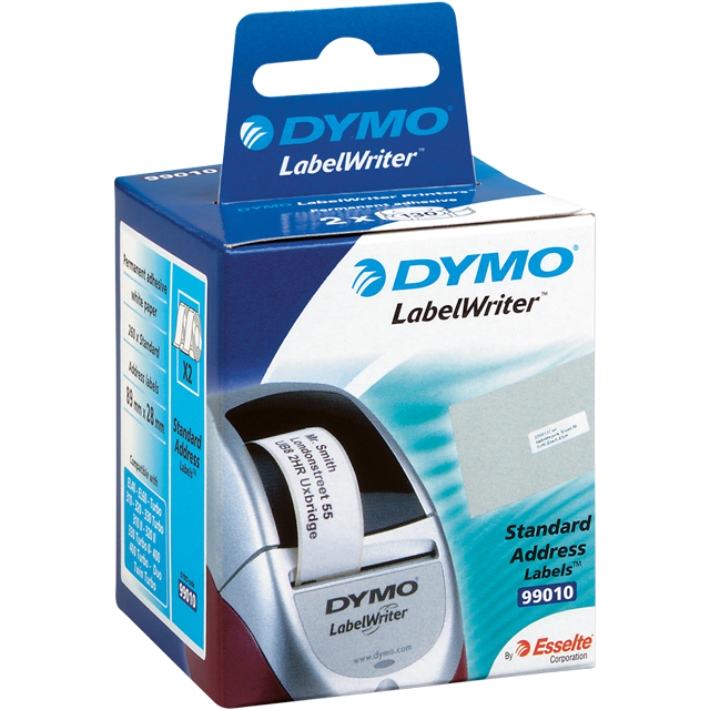 Dymo Label, Paper, 89x28mm,  1