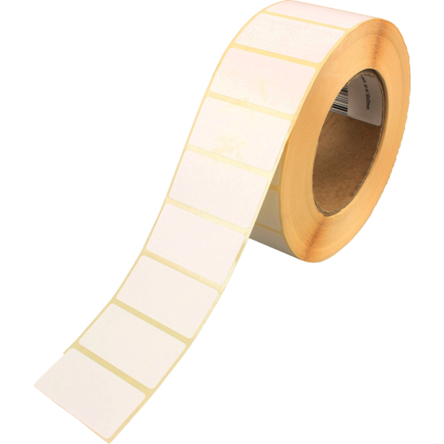 Label, Paper, 50x22mm, white 1