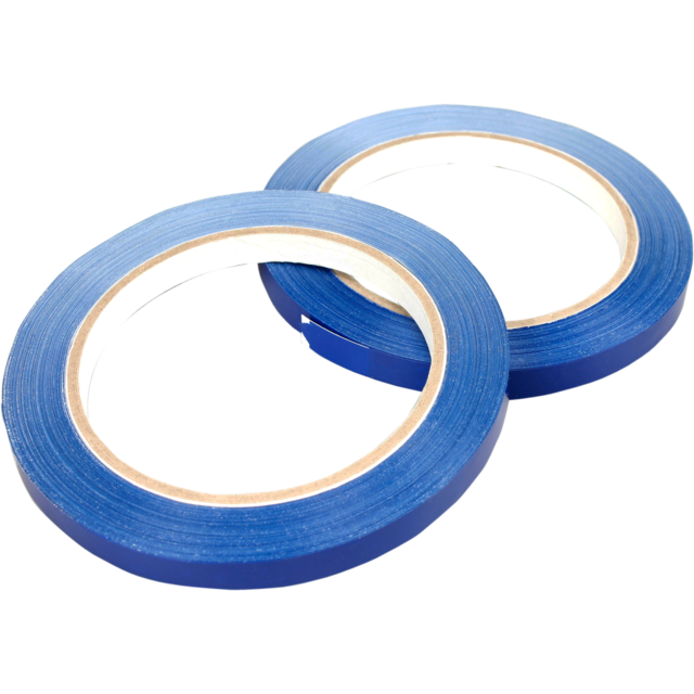 Packing tape, PVC, 9mm, 66m, blue 1