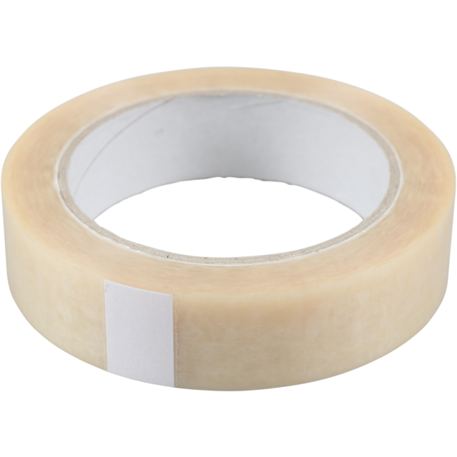 Packing tape, PVC, 25mm, 66m, transparent 1