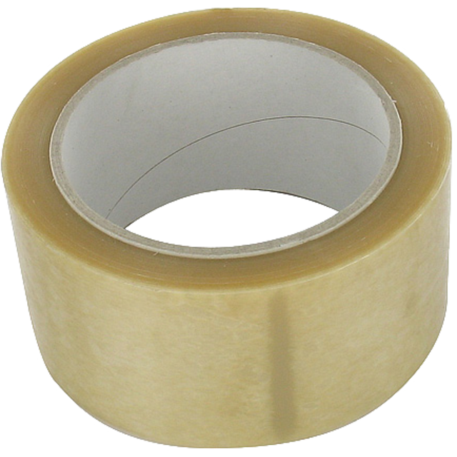 Packing tape, PVC, 48mm, 66m, transparent 1