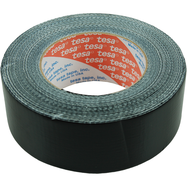 duct tape 4662 zwart       50mtr x 48mm. 1