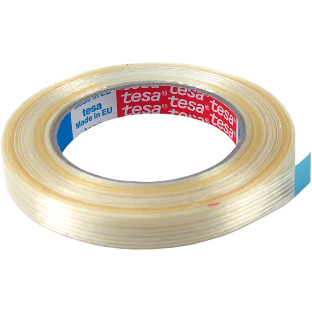 Tesa, Versterkt tape, Nylon, 50mm, 19m, transparant 1