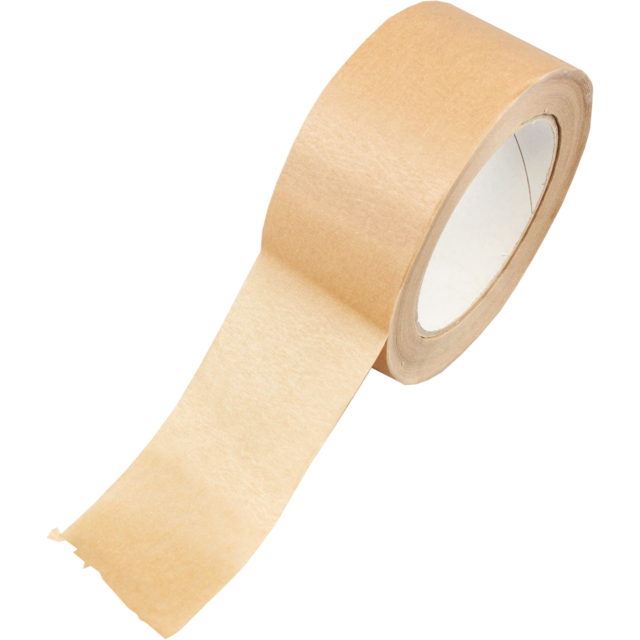 Tape, Paper tape, 50mm, 50m, brown 1
