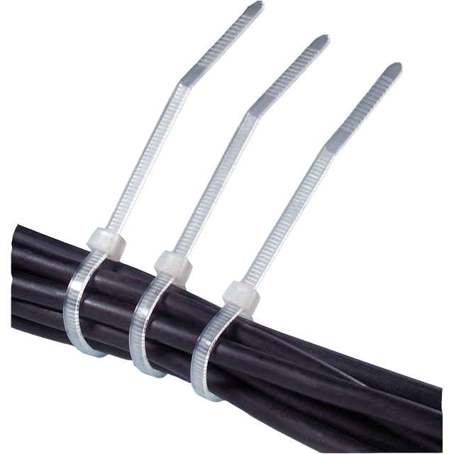 Cable tie, tie wrap, PS, 160mm, white 1