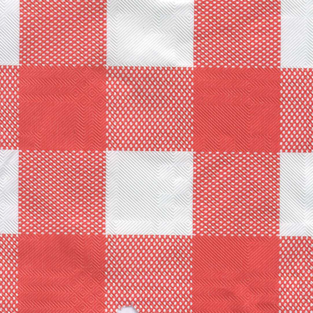 Tablecloth, Paper, 50m, red/White 1