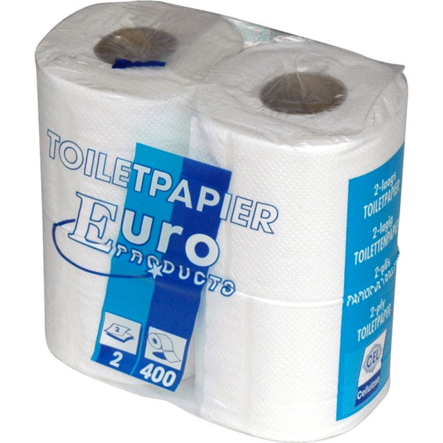 Toiletpapier, 2-laags, wit 1