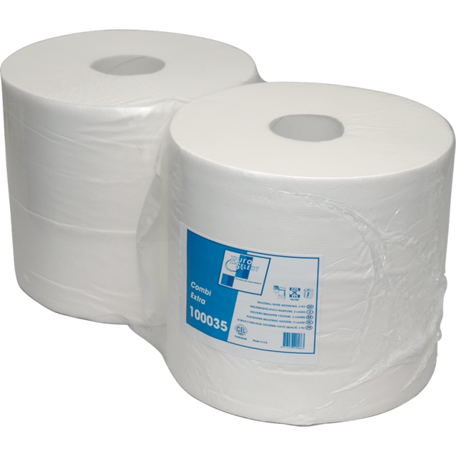 Cleaning paper, 24cm, 350m, White. 1