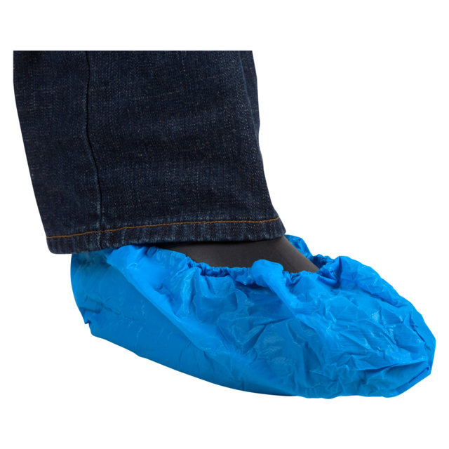 ComFort Shoe cover, LDPE, blue 1