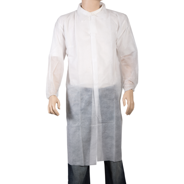 ComFort Apron and coat, PP, velcro, XXL, white 1