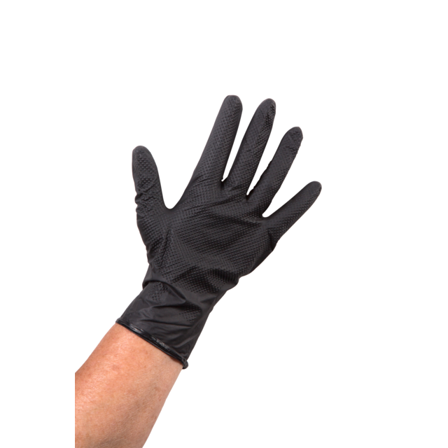 Glove, Nitrile, S, black 1