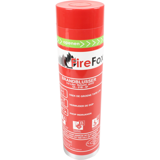 Fire extinguisher, 0,6kg, red 1