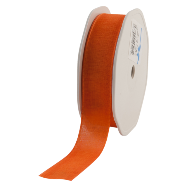 Ribbon, 22mm, 20m, orange  1