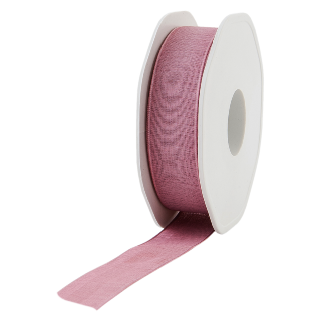 Ribbon, 22mm, 20m, oudroze 1