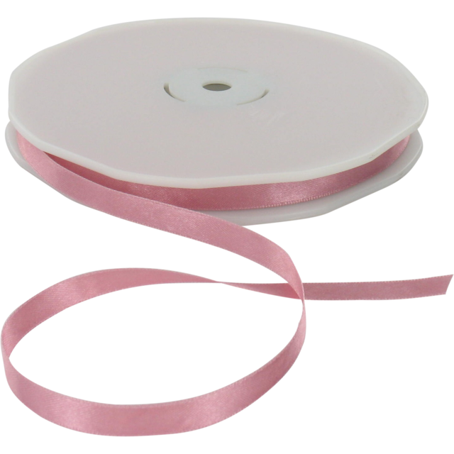 Ribbon, 10mm, 50m, dusty Pink 1