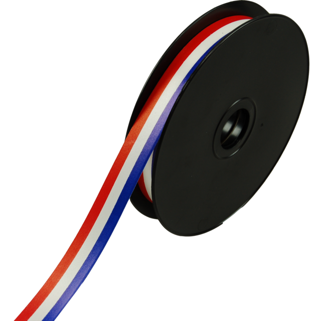 Ribbon, 19mm, 100m, red/White/Blue 1