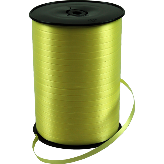 Ribbon, 5mm, 500m, lemon Yellow 1