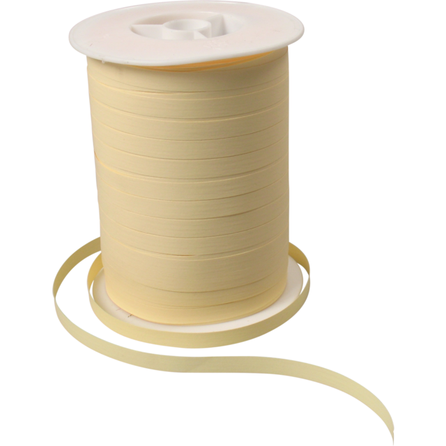 Ribbon, 7mm, 250m, cream 1