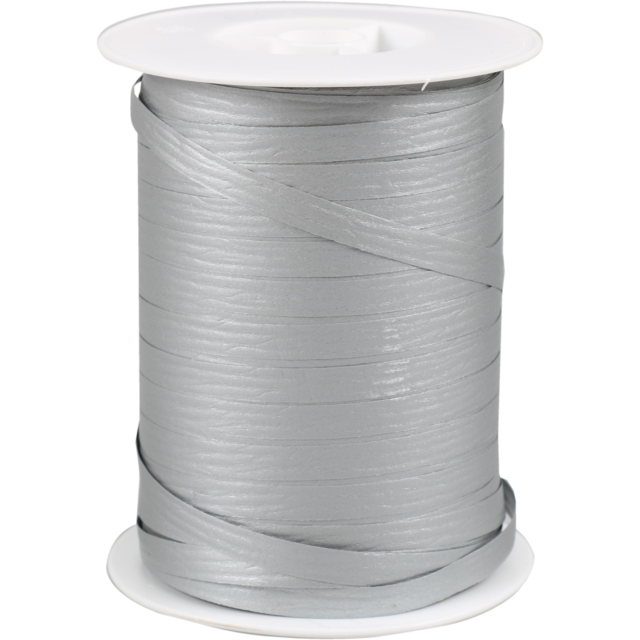 Ribbon, 7.5mm, 250m, silver 1