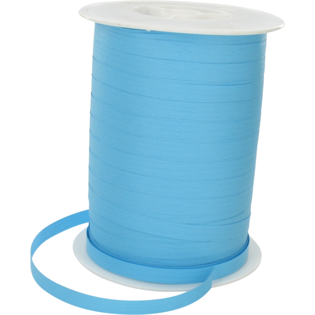 Ribbon, 7mm, 250m, light Blue 1