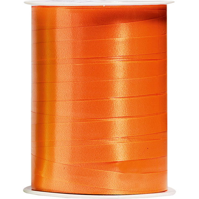 Ribbon, 10mm, 250m, orange  1