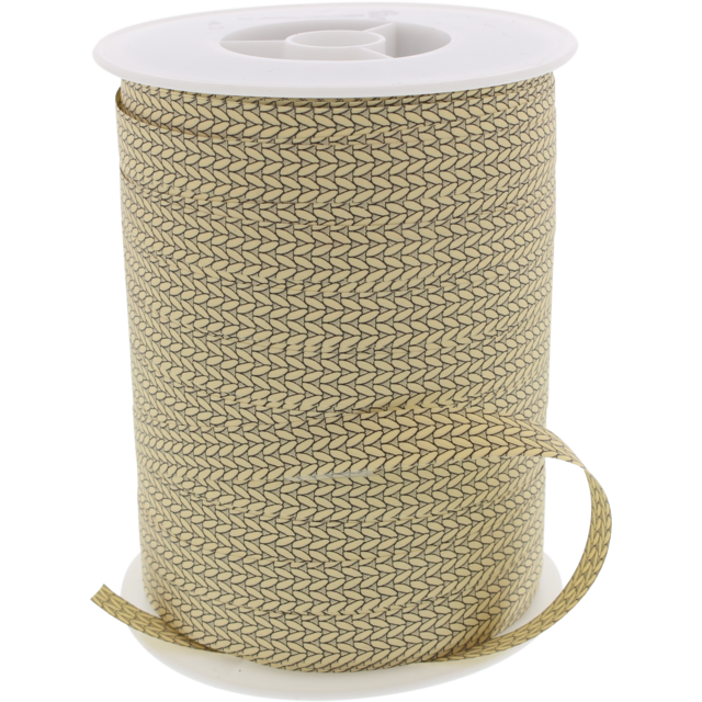 Ribbon, 10mm, 250m, beige 1