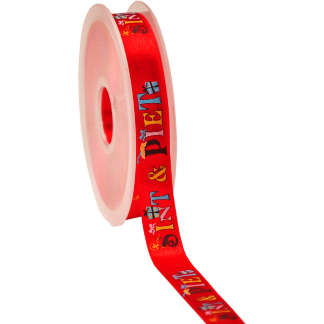 Ribbon, 15mm, 20m, red 1
