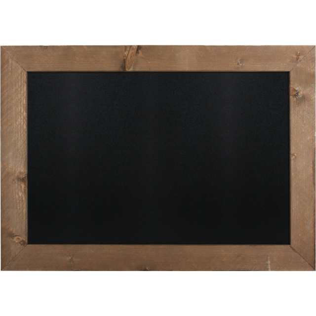 Chalkboard, scaffolding wood, 60x40cm, brown  1