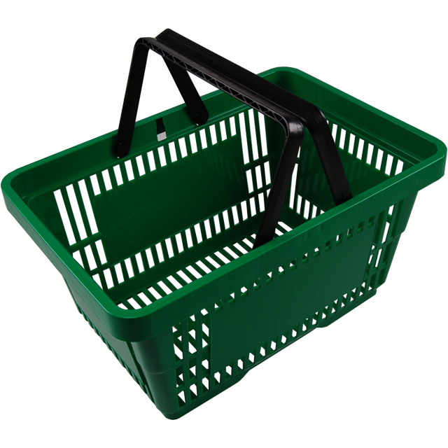 Shopping basket, pS, green. 1