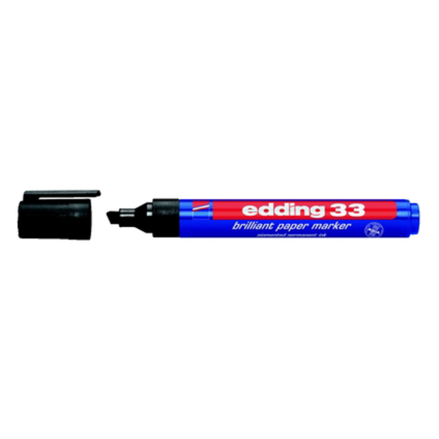 Edding Stift, 2mm, Type: 500, Zwart. 1