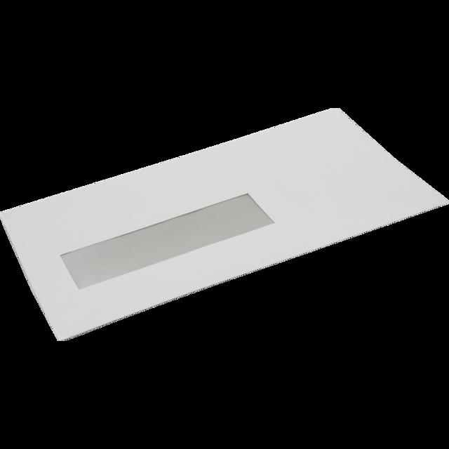 Enveloppe Enveloppe à Fenêtre 220x110mm Bande Blanc 922160