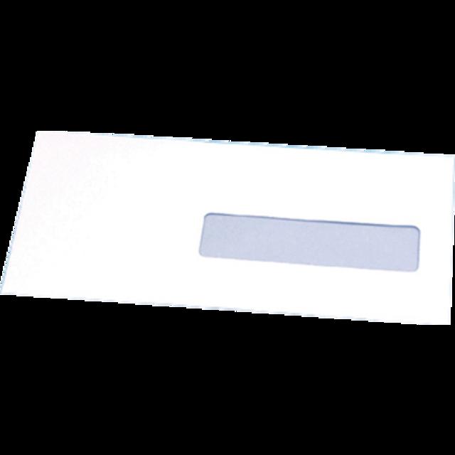 Enveloppe Enveloppe à Fenêtre 220x110mm Bande Blanc 922161